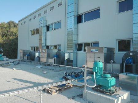 Въведени в експлоатация 4 бр. обезмирисителни инсталации в ПСОВ - Златни пясъци